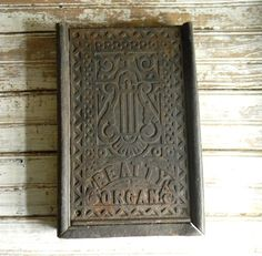 Antique Pipe Organ Pedal Salvage Pipe Organ by CarolinaVintageCo