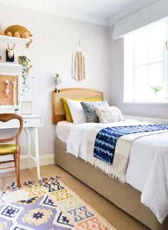 A Global Boho Kids Bedroom Makeover | One Room Challenge Reveal