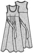 Выкройки платьев для полных
