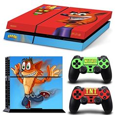 Faceplates, Decals & Stickers Skin Sticker For Playstation 4 Ps4 Tuning Mapping Elaborated Pop Skin Naruto #03 Making Things Convenient For Customers Video Games & Consoles