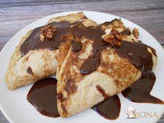 EXTRA DIÉTÁS GUNDEL PALACSINTA (GLUTÉN,TEJ,CUKOR,SZÓJAMENTES,SZÉNHIDRÁTMENTES) | Klikk a képre a receptért! Paleo Recipes, Pancakes, Tej, Cukor, Food And Drink, Dinner, Breakfast, Sweet, Rezepte