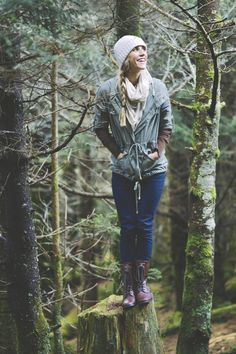 I'm gonna live in the woods someday. This outfit is the kind of outfit that I'll wear.