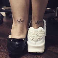 small crown tattoo #ink #youqueen #girly #tattoos #crown