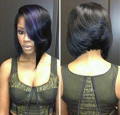 Nice Short Bobs for Black Women | http://www.short-haircut.com/nice-short-bobs-for-black-women.html