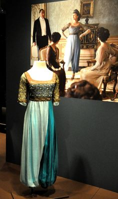 Downton Abbey Costumes! | Jacquelynne Steves. Crying.