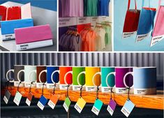 Pantone knows how to promote: Colors everywhere, and on everything!
