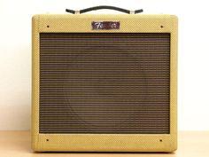 Fender Pro Junior tweed 1x10 blue alnico speaker