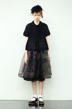 The skirt - not the face!