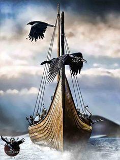 The Vikings by thecasperart.deviantart.com