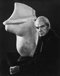 Henry Moore 1973 by Yousuf Karsh