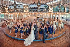 Carousel House at Light House Point, #ctwedding