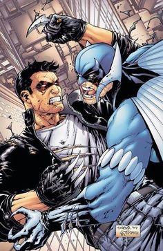Owlman Vs Batman New 52