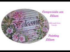 Composición con Lilium, composition with lilies - YouTube