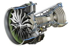 Keeping with the aircraft theme- here's a GE9X the largest and most powerful jet engine in the world developed for the new Boeing 777X. [1140x780] [OS]