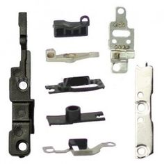 iPhone 4 Original Small Parts ( 8 Pieces )  Set Contains: - Grounding Clips - Retention Clips - WIFI Grounding Clip - Internal Covers