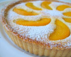 Happy Home Baking: Peach Tart