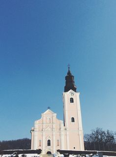 Pakrac, Croatia #church #exterior #pink #sacral #architecture