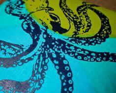 octopus pillow!