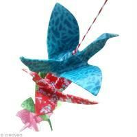 DIY guirlande grue origami