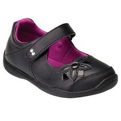 Toddler Girls' Surprize by Stride Rite Katelyn Mary Jane Shoes - Black : Target