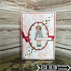 Jessie Holton - Live in Australia? Shop with me 24/7! Birthday Delivery, Happy Birthday Gorgeous, A Little Wild #JessieHolton #StampinUp #CrazyCrafters