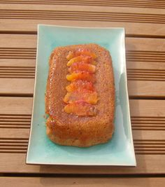 Que faire avec un reste de #pain ? #antigaspi Gateau à l'orange sanguine