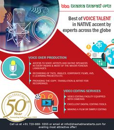 Best of voice talent in native accent b experts across the globe. #voiceover #interpretation #indianlanguages #languages