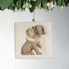 Hug Ornament by Willow Tree