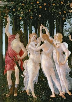 Allegory of Spring, by Sandro Botticelli.