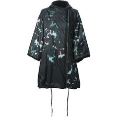 TopShop Petite Clear Sequin Rain Mac (4.690 RUB) ❤ liked on ...