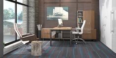Private office customization never looked so good. We are proud to offer Watson's Miro line, a modern solution for compact private offices that need the appearance of more room.