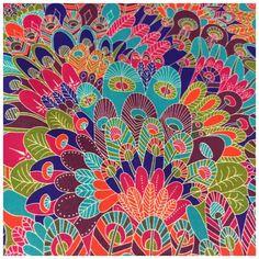 Stoff Streublumen - Liberty of London Tana Lawn Baumwolle Stoffe, Eben - ein Designerstück von Libertyme bei DaWanda