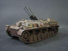 Panzer 4 mit Drillingsflak