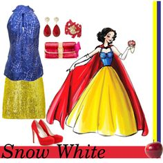 Snow White, created by annmarie0697  This set is part of my Disney Princesses collection.
