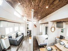 Flexible Mini-Bleibe: Dieses mobile Haus ist ausbaufähig und zwar auf Knopfdruck - zerosquared aurora tiny house 18