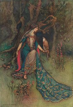 Warwick Goble (1862 – 1943) was an illustrator of children's books. He specialized in Japanese and I