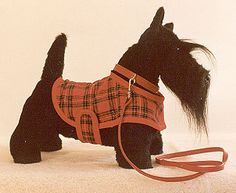 "PDF Scottie SEWING PATTERN 12"" Puppy Dog Scottish Terrier Stuffed Animal Toy Plushie Bear Friend"