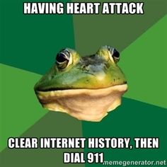 """Lol... My internet history is like, """"Rule 34: Dragons Having Sex With Cars."""""""