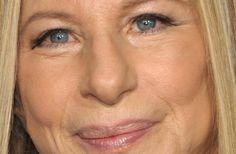 closeup on Barbra Joan Streisand