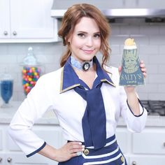 Rosanna Pansino Nerdy Nummies, Bioshock, American Actress, Youtubers, Video Game, Celebrity Style, Chips, Treats, Actresses