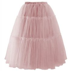33.3$ Watch more here - High Quality 2017 Rose Pink Soft Tulle Skirts For Women Stretchable Waistband Knee Length Midi Tulle Skirt Female Tutu Skirt #magazineonline