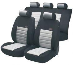 ZIPP IT Premium Sport Speed Auto Sitzbezüge mit Reissverschluss System.