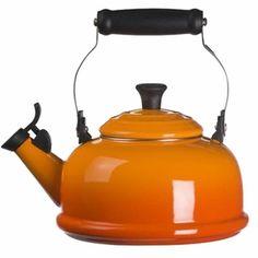 Le Creuset Enamel on Steel 1.8 Quart Whistling Tea Kettle