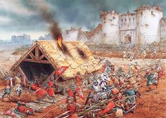 A Siege of Toulouse occurred from October 1217 to June 1218 during Albigensian Crusade. It was third of a series of sieges of the city during the height of Crusader efforts to put down Catharism (and the local Languedocian nobility). It ended in the repulsion of the Crusaders and the death of their leader, Simon IV de Montfort.