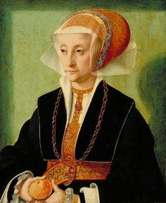 Barthel Bruyn, Portrait of a Lady, 1539