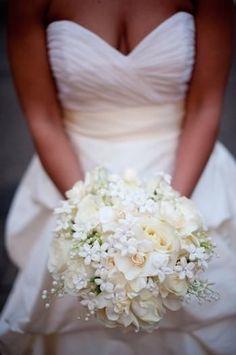 Bouquet mariée forme à revoir