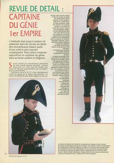 French Napoleonic Captain in the Engineers  Tradition 122 page 12