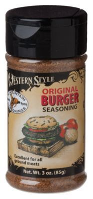 Western Style Seasonings - Original Burger