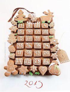New Cookies Decorated Christmas Desserts Ideas Christmas Cookies Gift, Christmas Biscuits, Christmas Dishes, Christmas Snacks, Christmas Gingerbread, Christmas Cooking, Noel Christmas, Christmas Decorations, Ideas Decoracion Navidad