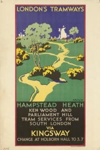London's Tramways, Hampstead Heath